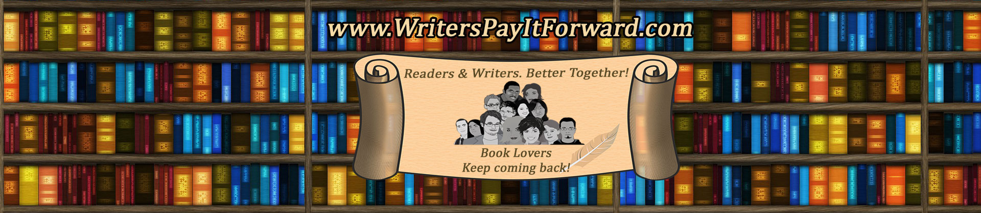 writers pay it forward
