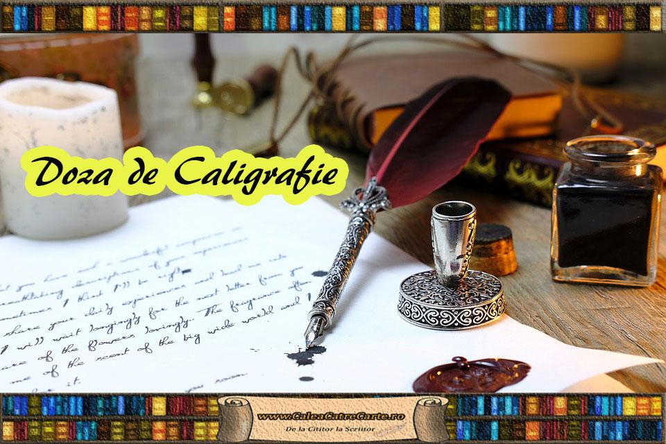 arta caligrafiei - cum incepem