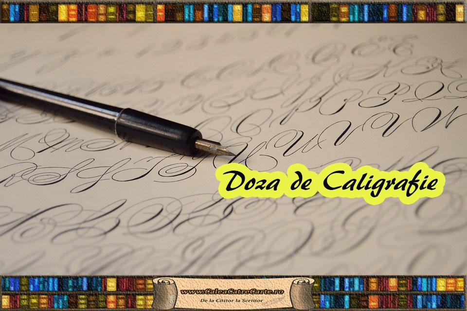 ghid de caligrafie