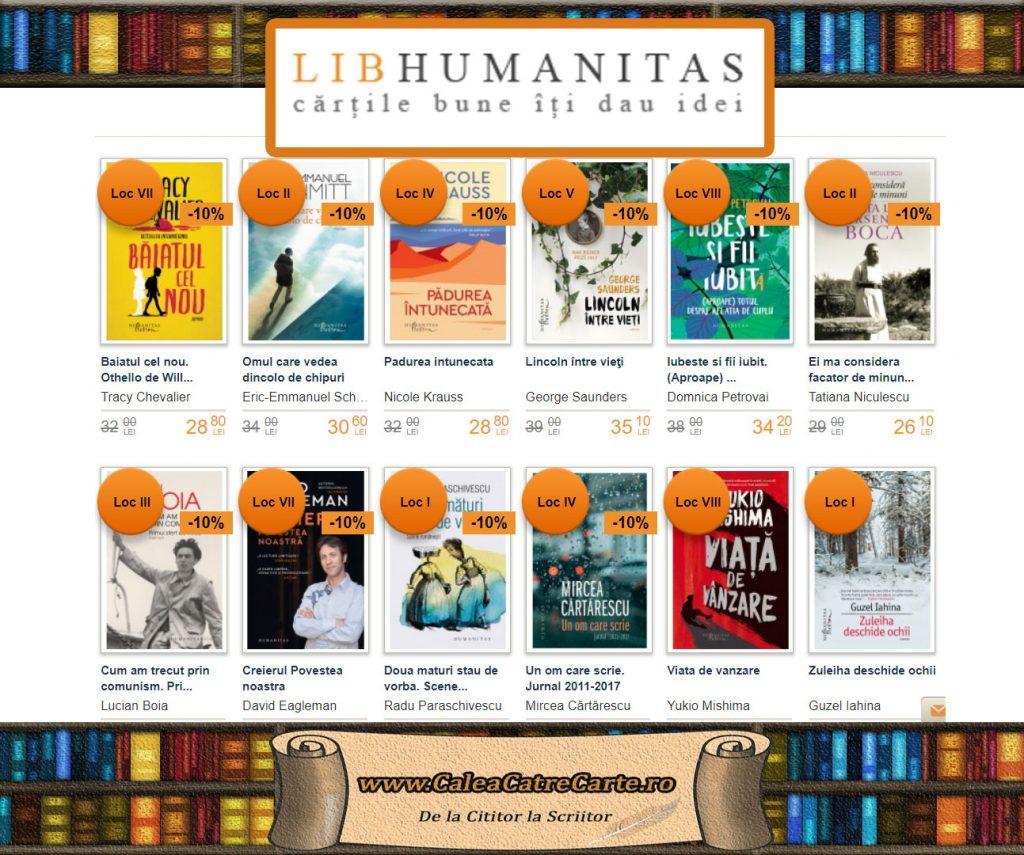 Librariile Humanitas la Bookfest 2018