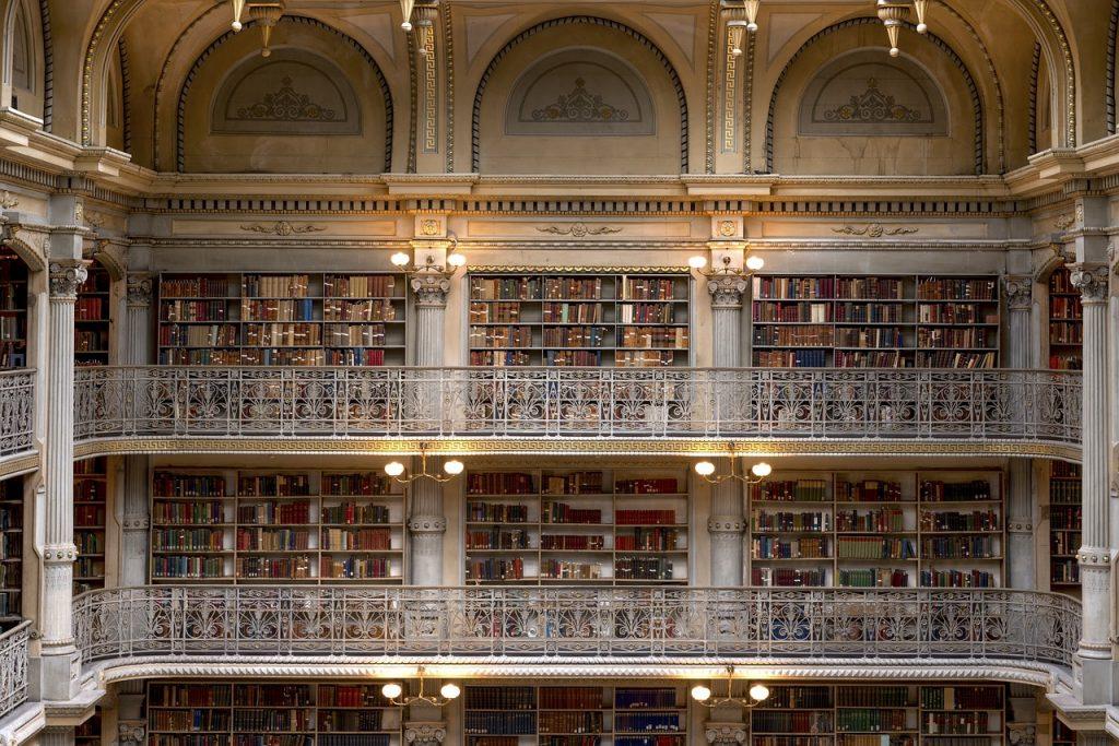 George Peabody Bücherei Peabody Institute Baltimore