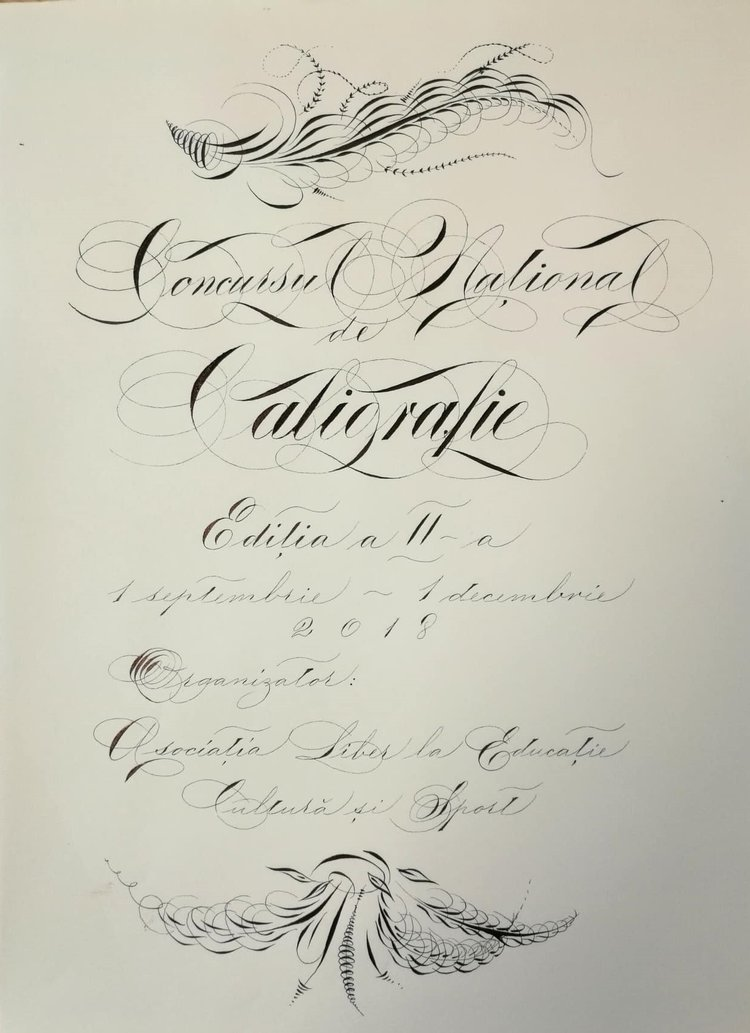 Concursul Național de Caligrafie