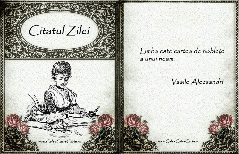 Cartea de Noblete - citat de Vasile Alecsandri